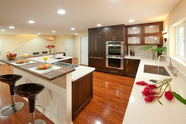 Windward Zen - Contemporary - Kitchen - Hawaii - by ... on luxury contemporary home design, luxury modern home design, luxury zen bathroom,