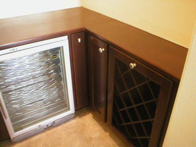 Wine Cabinet traditional-kitchen