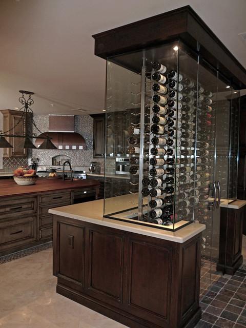 Wine Cellar Kitchen remodel - Southwestern - Kitchen - Phoenix - by ...