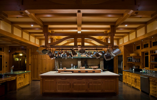 Wine Country Kitchens | Wine Country Craftsman Healdsburg California Traditional