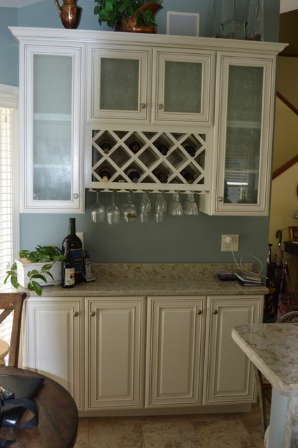 Wine Hutch Traditional Kitchen Other Metro By Jeff