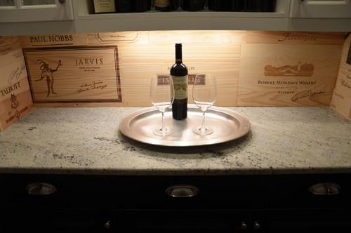 【Houzz】ワインと暮らすインテリア :ワイングッズをインテリアに生かす 2番目の画像