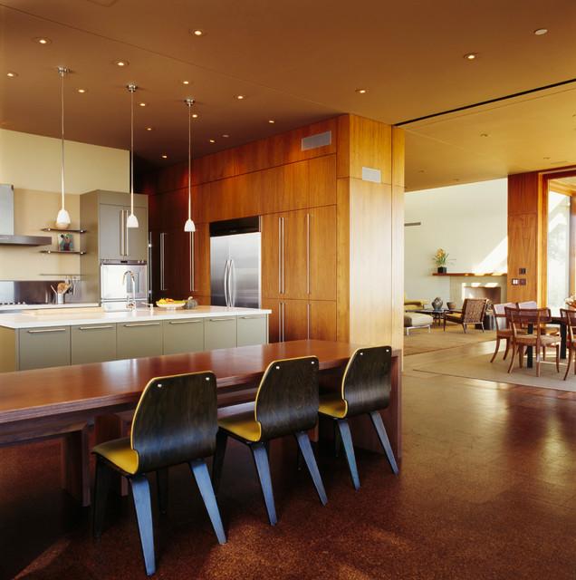 Winebaum Residence modern-kitchen