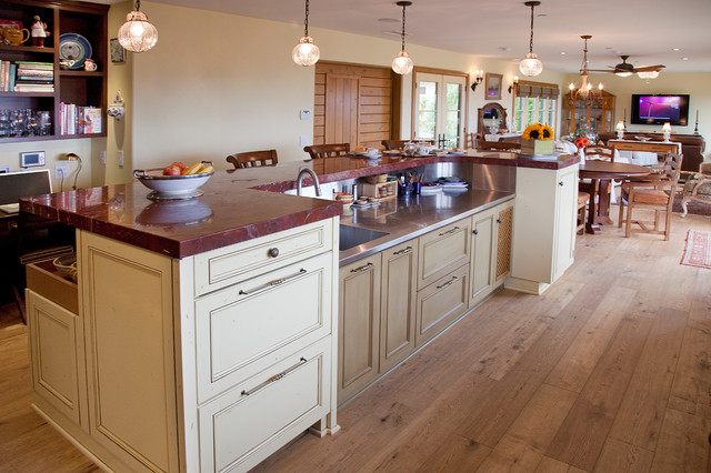 Wineberg Residence traditional-kitchen