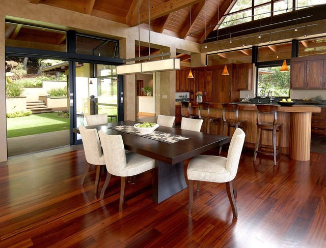 Wing House Tropical Kitchen Hawaii by McClellan Architects – Tropical Kitchens