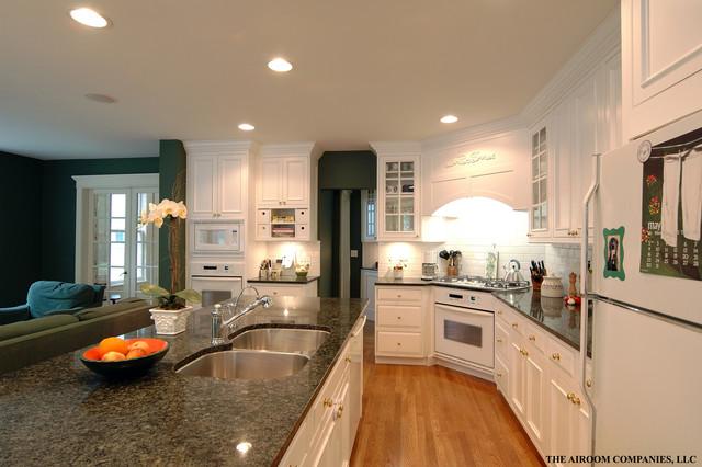 Winnetka Custom Home Remodel traditional-kitchen