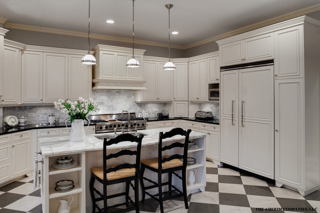 Winnetka Home Renovation eclectic kitchen