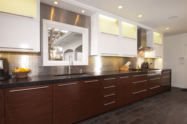 Winnetka Il Contemporary Kitchen Chicago By Ddk Kitchen Design Group