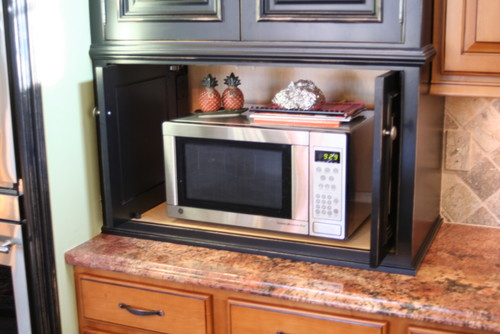 Microwave Location Options • Queen Bee of Honey Dos