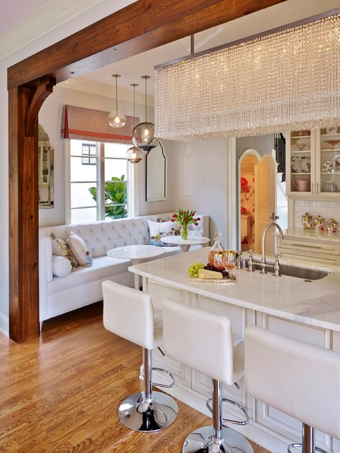 Winter Park, FL Townhouse - Eclectic - Kitchen - orlando - by John McClain Design
