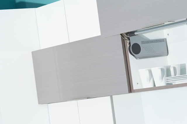Upper Cabinets from Dura Supreme with Lift Up - Contemporary - Kitchen ...