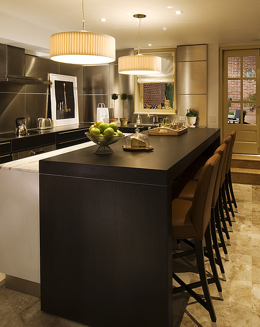 huntley & co. | Laid-Back Luxe contemporary-kitchen