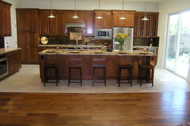 Wiswell Kitchen Design & Layout transitional-kitchen