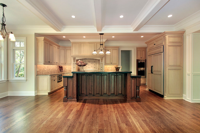 Witchwood Lane Residence traditional-kitchen