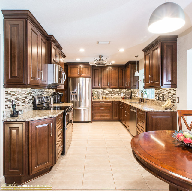 Witherell Zelmar Kitchen Project Traditional Kitchen Orlando By Zelmar Kitchen Designs