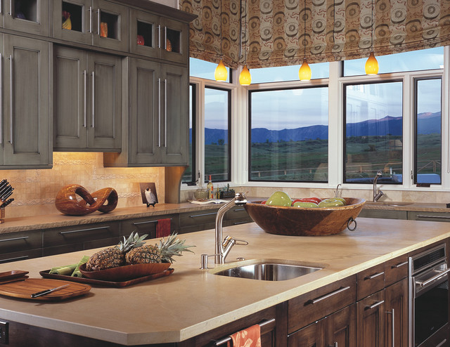 Wm Ohs With a Mountain View - Transitional - Kitchen - Denver - by Wm Ohs Inc.