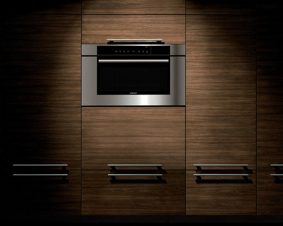 "Wolf 30"" M Series Transitional Convection Steam Oven Black 