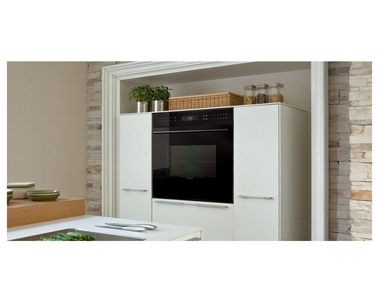 """Wolf E Series 30"""" Single Electric Wall Oven, Black Glass Unframed 