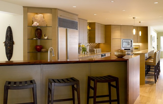 Wolfe Residence contemporary-kitchen