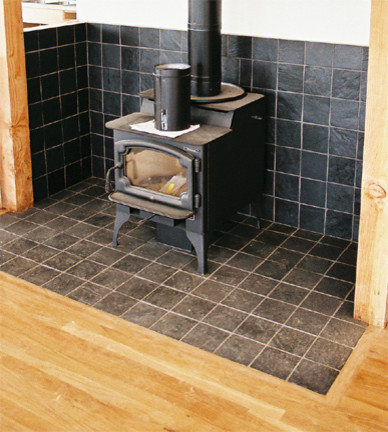 Wood Burn Stove Area Kitchen Other Metro By Custom