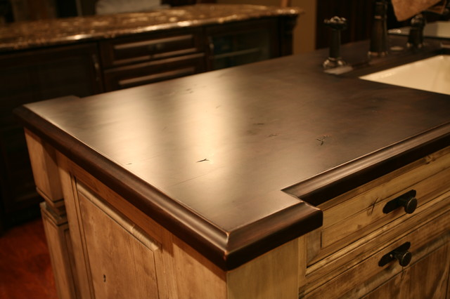 Wood Counter Top Transitional Kitchen Other Metro By Tampa Bay Millworks Home Design