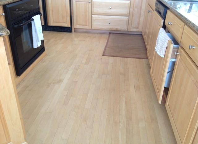 Wood floor refinishing Avalon! NJ 08202 beach-style-kitchen