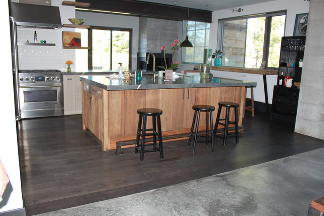 Wood Flooring Contemporary Kitchen Sacramento By Nor Cal Floor Design