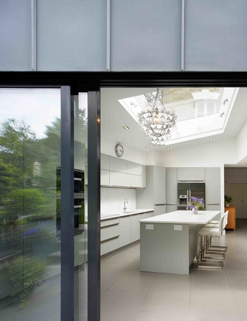 Wood lane london contemporary kitchen london by for Modern kitchen london