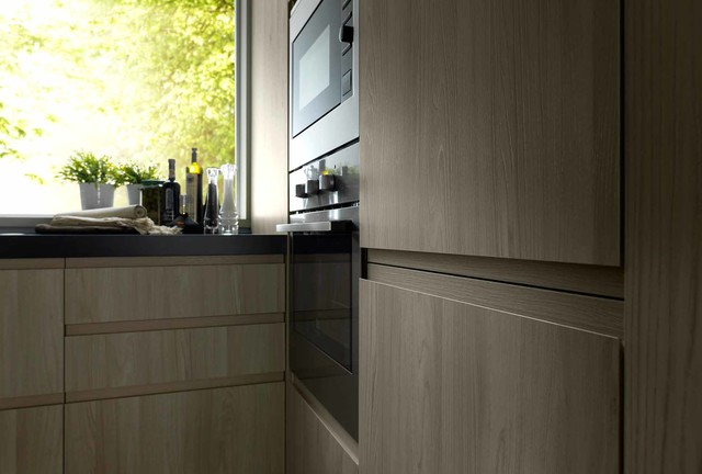WOOD LINE STEP 04 contemporary-kitchen