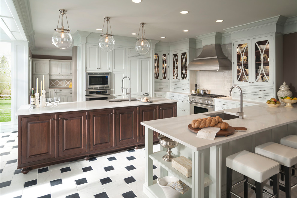 Wood-Mode Embassy Row Kitchen - Transitional - Kitchen ...