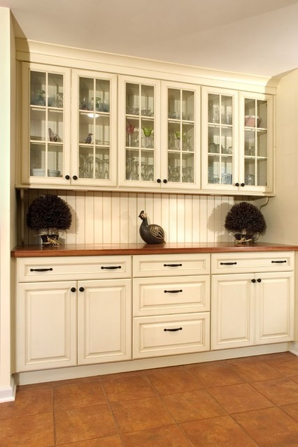 Wood N 39 White Mediterranean Kitchen Philadelphia By Cranbury Design Center Llc
