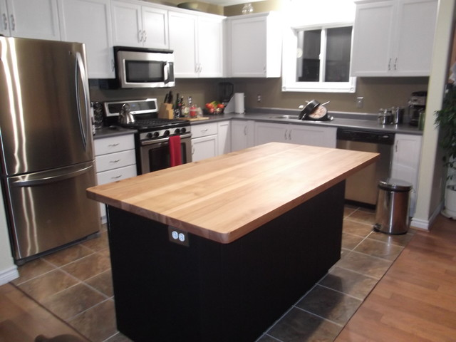 Top Kitchen kitchen island legs island top the granite was special ordered