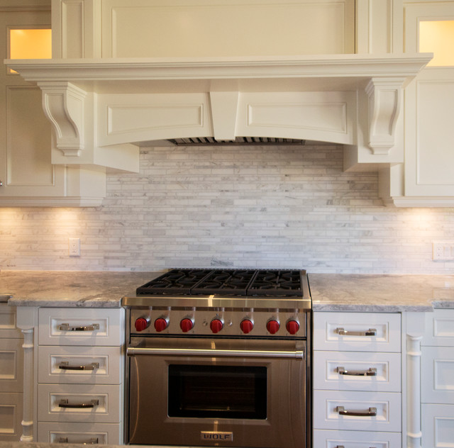 Woodbine Heights Blvd Custom Home Transitional Kitchen Toronto By Valentini Kitchens
