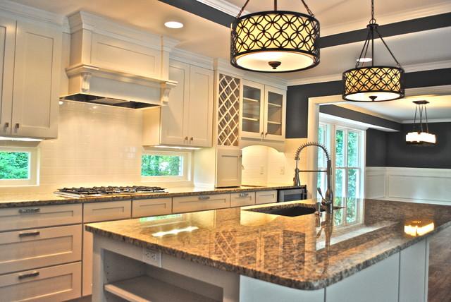 Woodbine Terrace traditional-kitchen