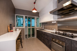 Woodcress Hdb Bto Contemporary Kitchen Other Metro By Zee And Marina Photography