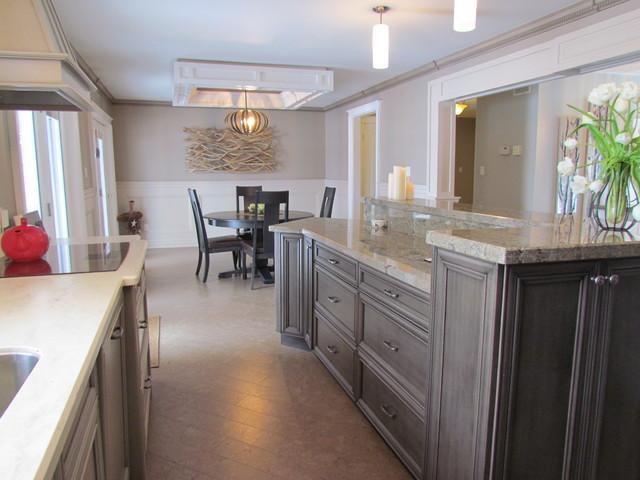 Woodcrest Sheffield Maple Portabelo Kitchen Traditional Kitchen Toronto By Alliston Home