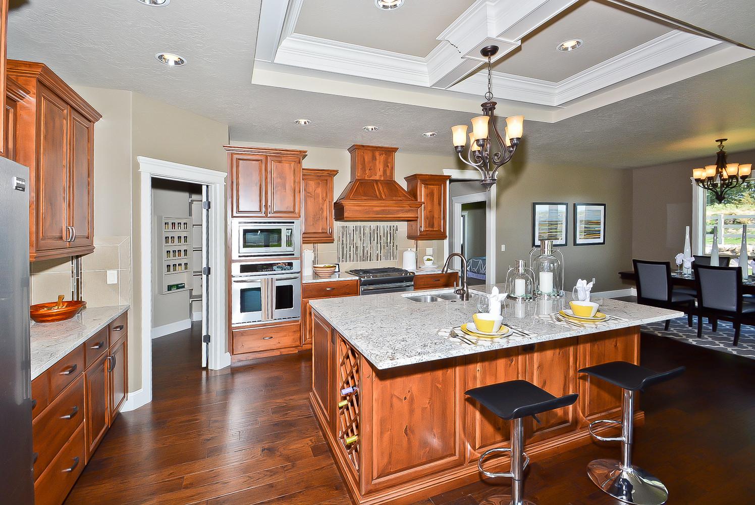 Wooden Kitchen Home Design