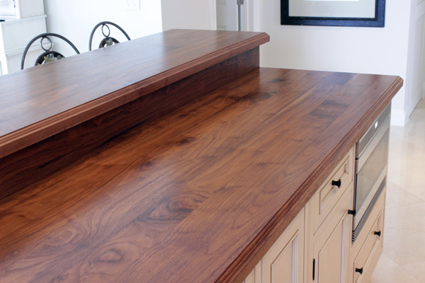 Amazing Wooden Kitchen Island Top Traditional Kitchen