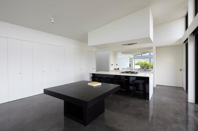Woodend House modern-kitchen