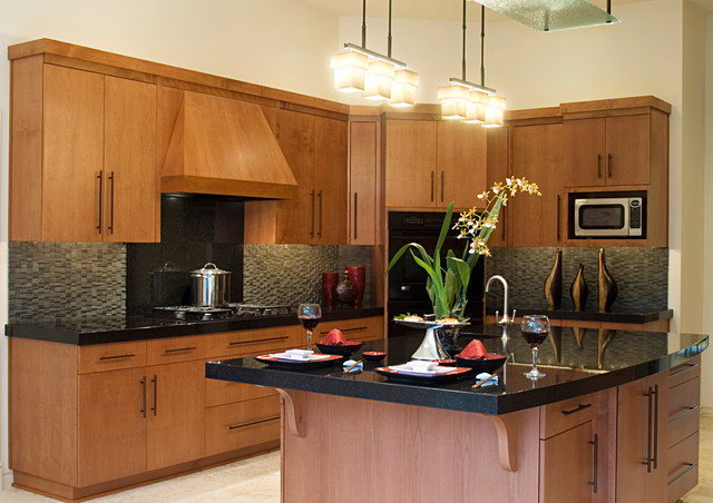 Woodinville Residence asian-kitchen