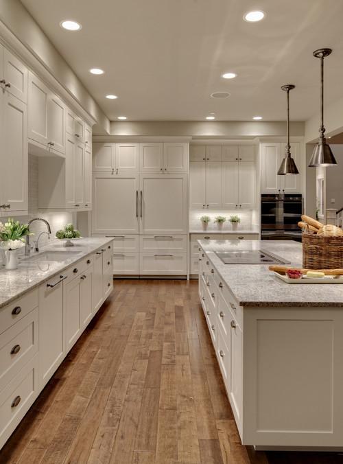White Dove kitchen cabinets