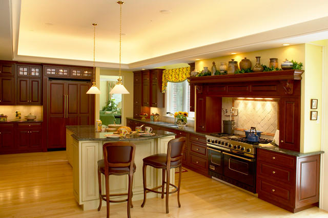 Woodland Estate traditional kitchen
