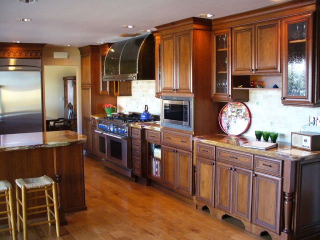 Woodland Hills Ca Kitchen Remodel Traditional Kitchen Los Angeles By Castle Vision