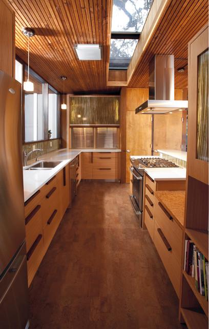 Woodland Kitchen modern-kitchen