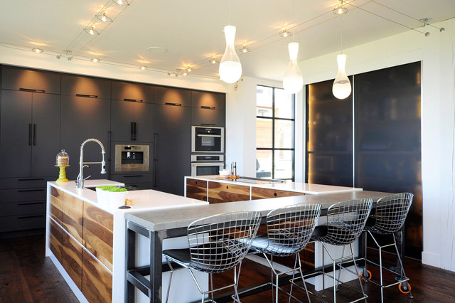Woodland Kitchen - Rustic - Kitchen - Vancouver - by Ken Veach - Vancouver Designer at Scavolini