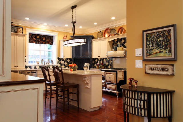 Woodley Residence Eclectic Kitchen Other By Gillian Ley Ley Art And Interiors Ltd