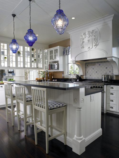 Traditional Kitchen by Holden General Contractors Woodmeister Master Builders