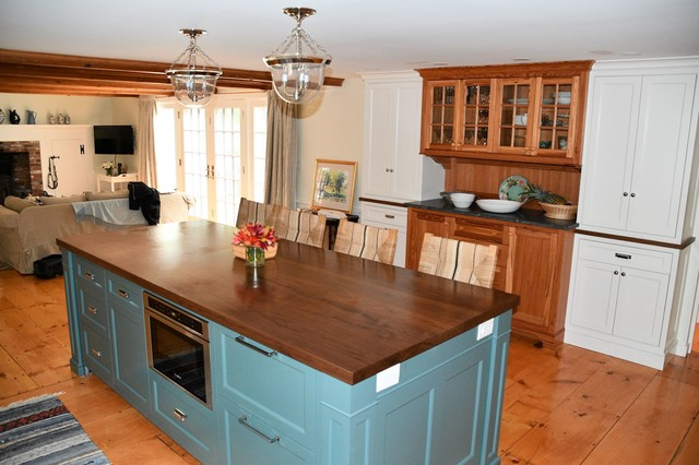 Woodmere Dr Sudbury Ma Country Kitchen Boston By Dipierro And Brown Construction Inc Houzz Uk