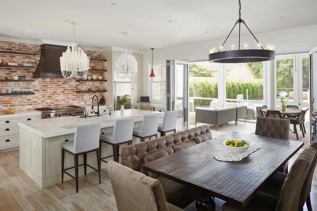 Woodmont Residence Farmhouse Kitchen Austin By
