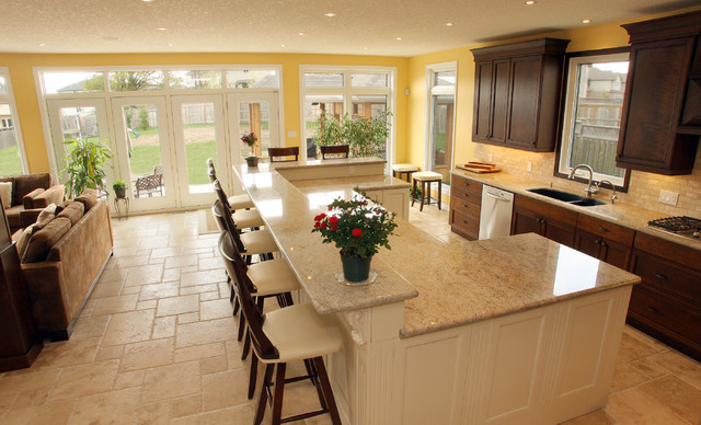 kitchen island design. Traditional Kitchen by Schnarr Craftsmen Inc How to Design a Island